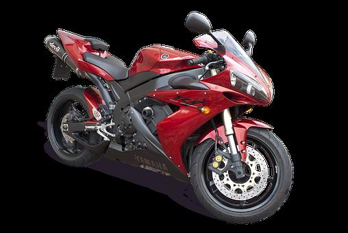 Isolated, Yamaha R1, Racing Bike, Speed, Transportation