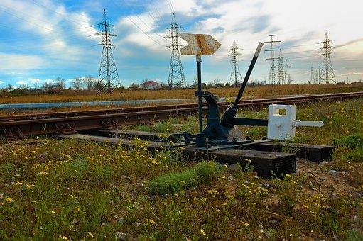 Track, Railroad, Travel, Switch, Transportation