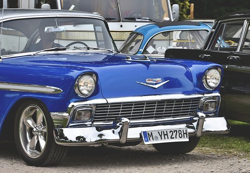 Chevrolet Bel Air, Oldtimer, Classic, Auto, Vehicle