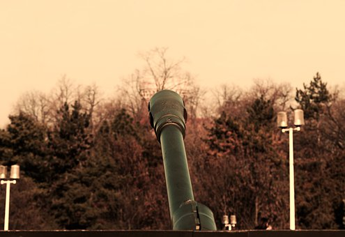 The Pipe, Cannon, Old, War, Museum