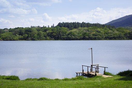 Lake, Water, Blue, Green, Nature