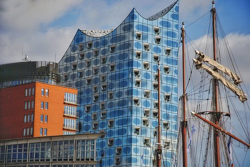 Elbe Philharmonic Hall, Hamburg, Architecture, Elbe