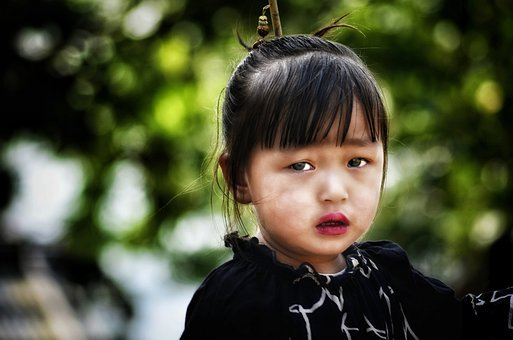 Children, Girl, Sad, Emotion, Cry, Beautiful, People