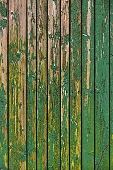 Boards, Wooden Wall, Facade, Verdigris