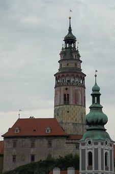 Krumlov, Castle, City, Architecture