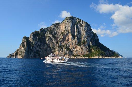 Italy, Capri, Mediterranean, Tourism, Coast, Vacations