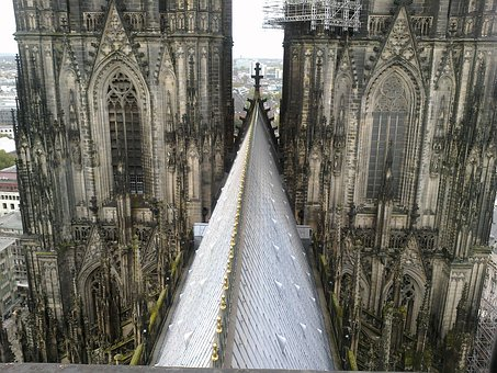 Cologne Cathedral, Roofs, Building