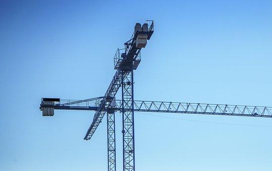 Cranes, Construction, Architecture, Build, Industrial