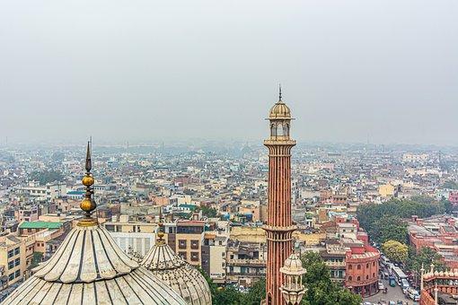Delhi, Jama Masjid, Tower