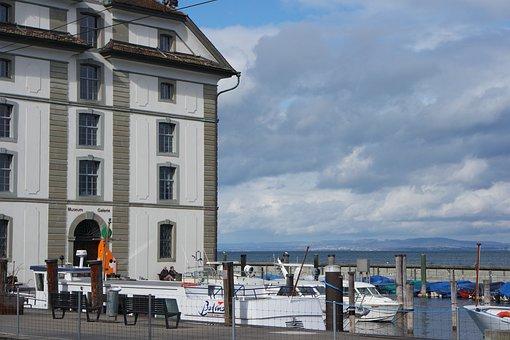 Rorschach, Lake Constance, Grain House, Historically