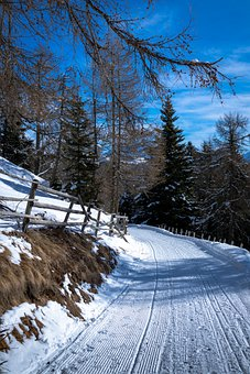 Route, Snow, Winter, Trekking, Nature