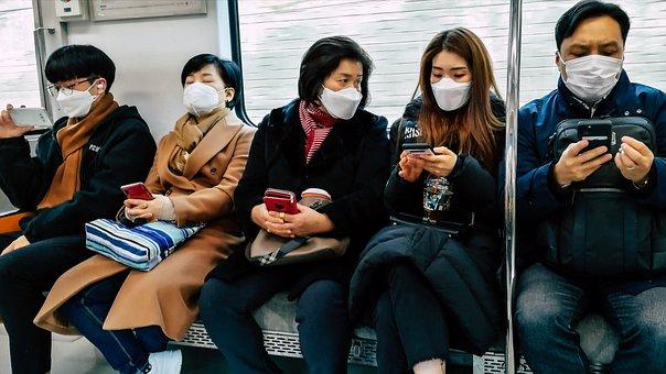 S Bahn, Metro, Respiratory Mask, Flu