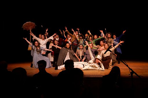Theatre, Becky Sharp, Actors, Students, Musical