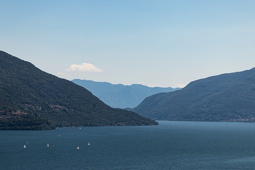 Lake, Ascona, Ticino, Foresight, Switzerland, Mountains