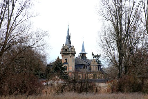 Castle, The Palace, Buildings, Crash, Old, Abandoned