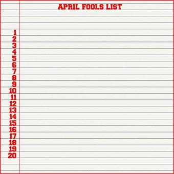April Fools Day Background, April 1st, Joke Day