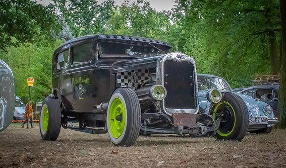 Ford, Hot Rod, Auto, Classic, Muscle