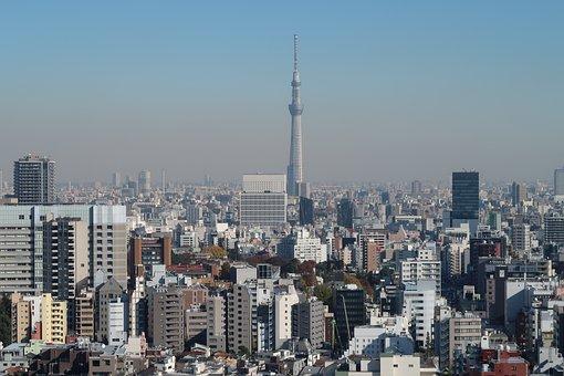 Tokyo Sky Tree, Cityscape, Landmark