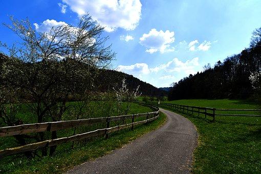 Trail, Danube Valley, Beuron, Thier Garden, Manor
