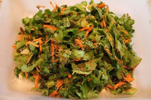 Carrot, Delicious, Dinner, Pumpkin Seeds, Salad