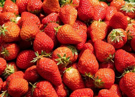 Strawberry, Food, Fruit, Strawberries