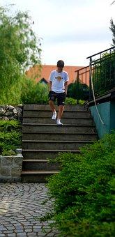 Boy, Gradually, Go, Stairs, Hard Rock Cafe