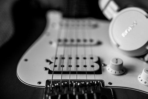 Guitar, Headphones, Classical Guitar, Acoustic Guitar