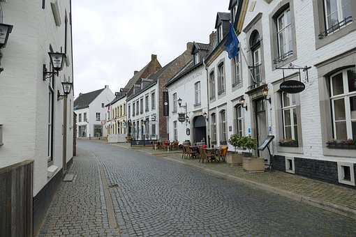 House, Houses, Netherlands, White, Painted, Stone