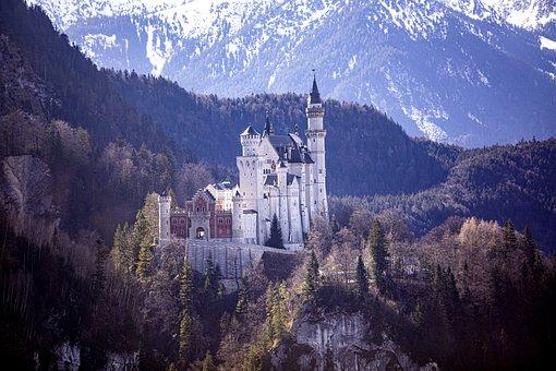 Castle, Swan Stone, Kristin, Neuschwanstein Castle