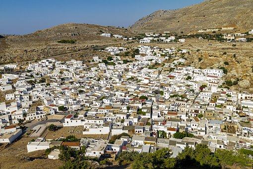 Rhodes, Greek Islands, Lindos, Resort