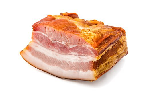 Fat, Pork, Food, Smoked, Meat, Portion