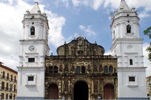 Panama, Panama City, Cathedral, Building