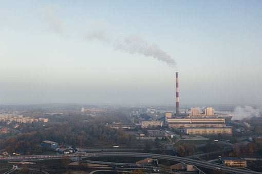 Pollution, Environment, Drone