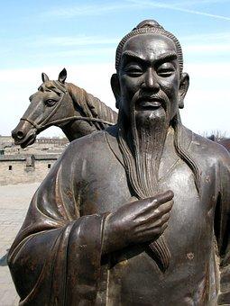 Brass, China, Horse, Sculpture