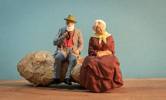 Toys, Miniature Figure, Ginger, Small, Creative