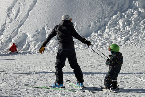 Skiing, Learning, Children, Snow, Winter, Learn, Sport