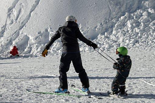 Skiing, Learning, Children, Snow, Winter, Learn, Sport