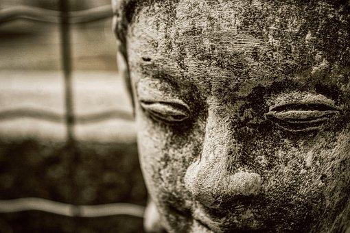 Face, Statue, Stone, Figure, Sculpture, Goblin, Gnome