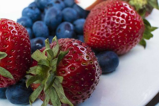 Strawberry, Macro, Berries, Fruit, Red, Delicious