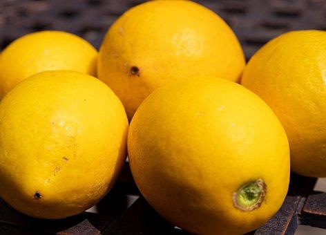 Lemon, Summer, Fruit, Food, Cocktail