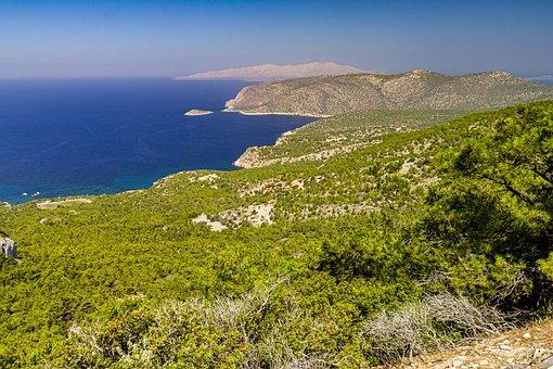 Rhodes, Greek Islands, Resort, Tourism, Panorama, Sea