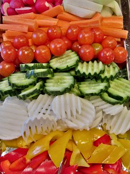 Vegetables, Vegetable Plate, Eat, Paprika, Red, Yellow