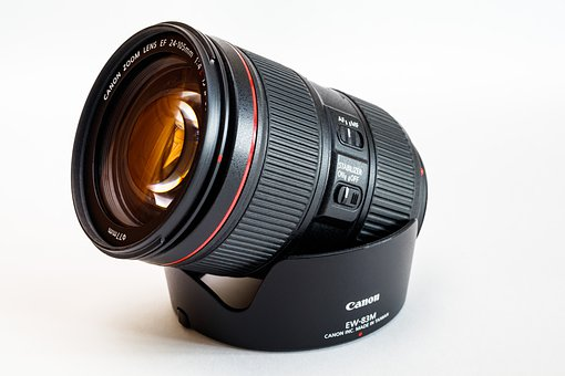 Lens, Canon, Zoom Lens Ef 24-105Mm