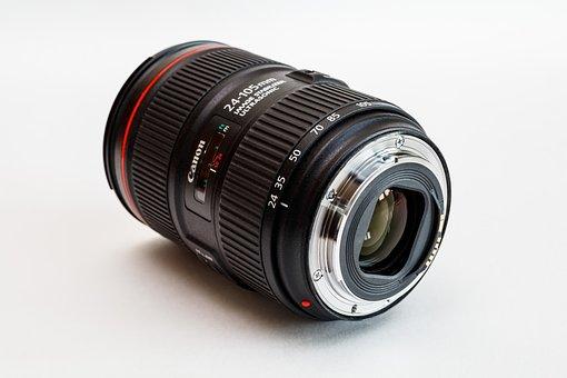Lens, Canon, Zoom Lens Ef 24-105mm, Optics, Zoom