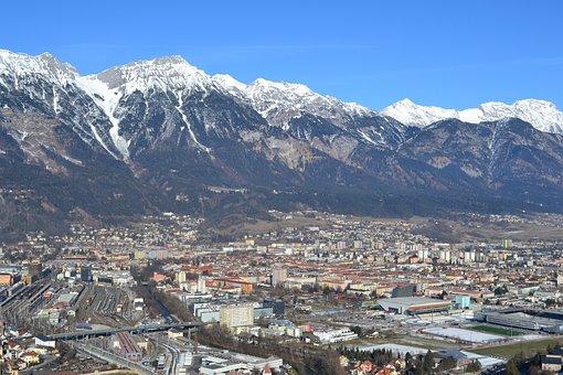 Austria, Ski Jump, Innsbruck, Jump, Alps, Sports