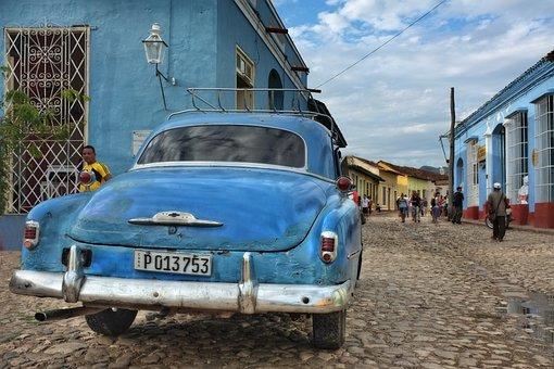 Cuba, Auto, Automotive, Nostalgia, Car