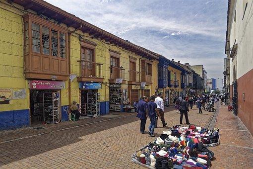 Colombia, Bogotá, Colonial Building