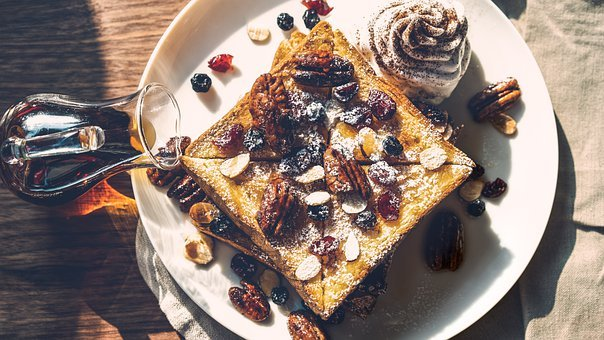 Bread, Dessert, Food, Breakfast, Cake