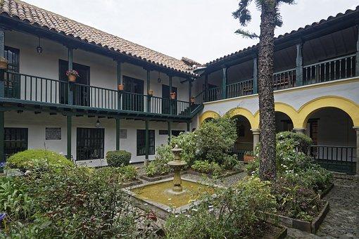 Colombia, Bogotá, Colonial Building, Building