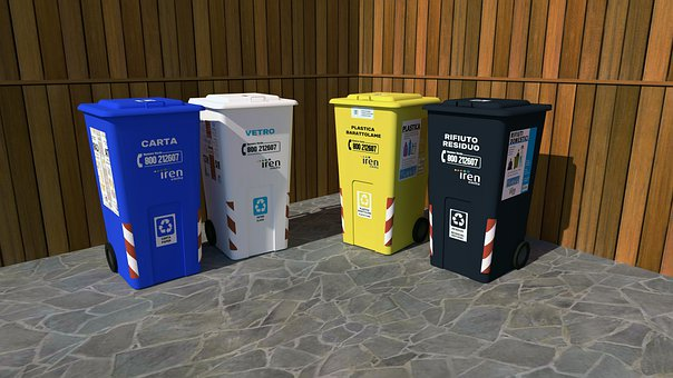 Garbage, Trash, Pollution, Recycle, Environment